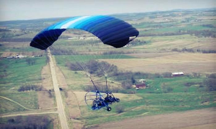 Silver Lining Aviation - Punta Gorda: $135 for 30-Minute Powered Parachute Ride from Silver Lining Aviation in Punta Gorda ($289 Value)