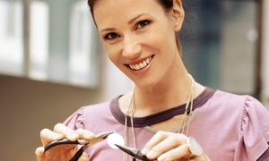 Design 4 U: Jewelry-Repair Class for Two or Private Beading and Wiring Class for Two or Four from Design 4 U (Up to 57% Off)