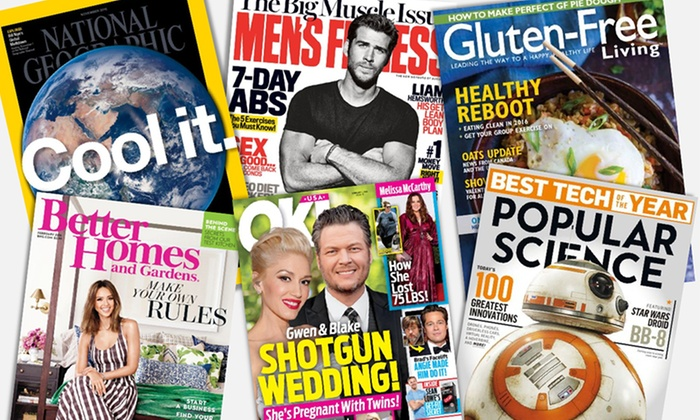 $10 or $25 To Spend on Magazine Subscriptions