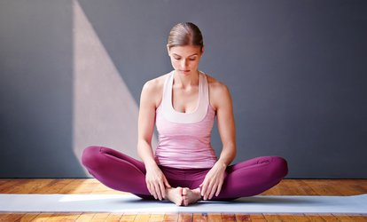image for 10 or 15 Classes at The <strong>Yoga</strong> Studio (75% Off)