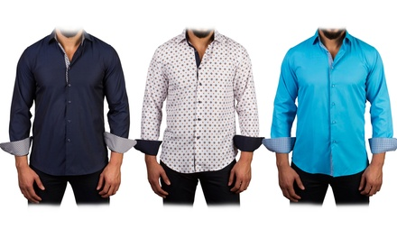 Azaro Uomo Men's Button-Down Shirts