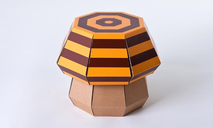 funny paper kinderm bel aus pappe groupon goods. Black Bedroom Furniture Sets. Home Design Ideas