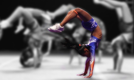 Cheerleading and Gymnastics Classes for One or Two at West Coast Rush Cheerleading (Up to 53% Off)