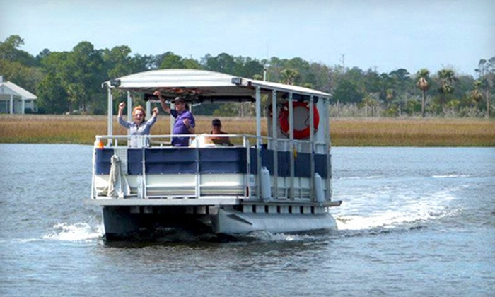 Jax Water Tours - Vilano Pier: $39 for a Two-Hour BYOB Sunset Cruise for Two from Jax Water Tours in Jacksonville Beach ($83.33 Value)
