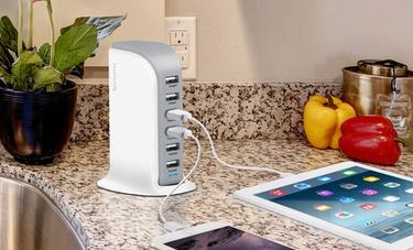 Aduro 6-Port USB Charge Station