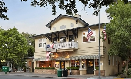 Stay with Dining Credit and Beer and Wine Tastings at Calistoga Inn Restaurant & Brewery in California; Dates into March