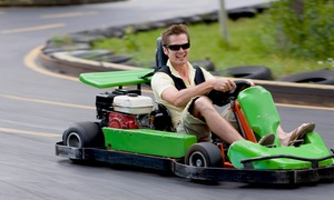 The Fun Station: $22 for $40 Worth of Go-Karts, Laser Tag, and Mini Golf at The Fun Station