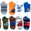 10-Pack of Disney's Frozen and Cars No-Show Socks for Boys