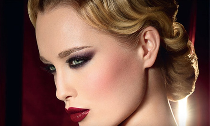 Darling Devil's Makeup Studio - East Central: Makeup Class with Wine and Cheese for One or Two or Makeup Application at Darling Devil's Makeup Studio (Up to 61% Off)