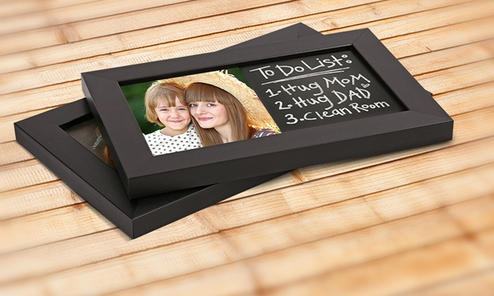 PhotoChalkBoards.com: Custom Photo Chalkboards from PhotoChalkBoards.com (Up to 83% Off). Five Options Available.