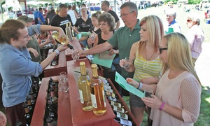 Up to 32% Off Admission to Uncork Spring Wine Festival at Uncork Spring Wine Festival, plus 6.0% Cash Back from Ebates.