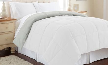 All Seasons Down Alternative Reversible Comforters