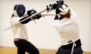 Minnesota Sword Club: One-Month Medieval Combat Fencing Class for One or Two at Minnesota Sword Club (Up to 56% Off)