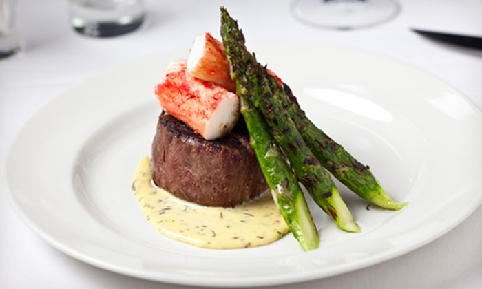 801 Chophouse - Multiple Locations: $40 for $80 Worth of Aged USDA-Prime Steaks, Fresh Fish, and Wine for Dinner at 801 Chophouse
