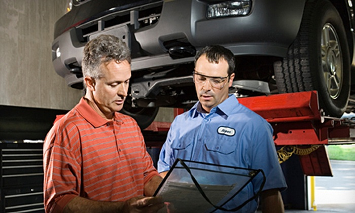 Auto Care Special - Multiple Locations: $33 for anAuto-Maintenance Package with Three Oil Changes, Two Tire Rotations, Diagnostics, and Flat-Tire Repairs ($189.99 Value)