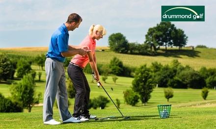 $49 for 3-Session Golf Improvement Pkg Incl. Private Lesson at West Beach Driving Range Drummond Golf (Up to $125 Value)
