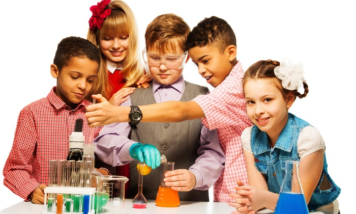 Science Creations - Tucker: $178 for a One-Hour Science-Themed Party for Up to 30 Kids from Science Creations ($350 Value)