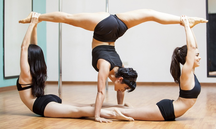The Twisted Angel Fitness - River West Studio: 5 or 10 Get Twisted Intro to Flexibility Classes at The Twisted Angel Fitness (Up to 71% Off)