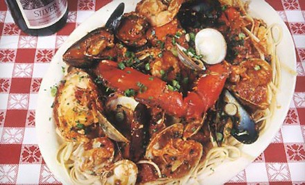 "Lobster and Fresh Seafood for Lunch or Dinner at Daddy Jack""s (Half Off). Three Options Available."