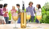 Enfriador de vino con vertedor para botellas