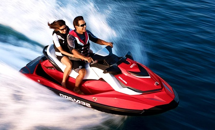 Two-Hour Tandem Jet-Ski Rental or Tour for Two from Vancouver Water Adventures (50% Off)