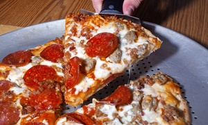 Pizza Zone: $17 for Two Three-Topping Pizzas of Any Size at Pizza Zone ($34 Value)