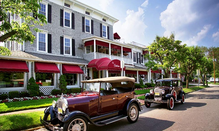 Chateau Inn & Suites - Spring Lake, NJ: 1- or 2-Night Stay for Two with Breakfast and Bike and DVD Rentals at Chateau Inn & Suites in Spring Lake, NJ
