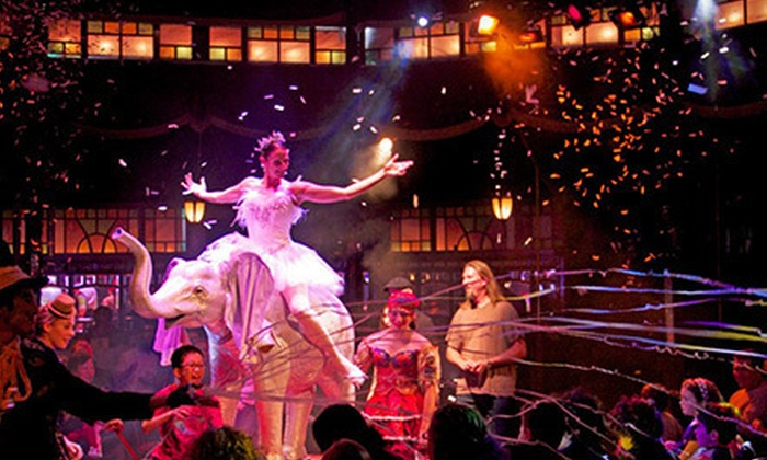 Teatro ZinZanni - Lower Queen Anne: $149 for a Groupon-Exclusive Lunch-and-Show Package for Two on March 17 or April 21 at Teatro ZinZanni ($286 Value)