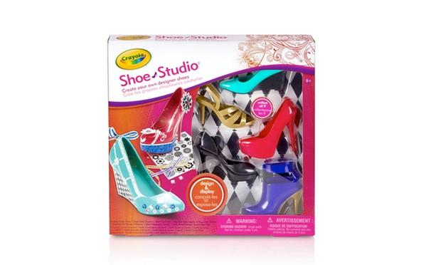 Crayola Creations Shoe Studio Groupon Goods