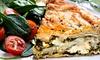 Tassos - Waldo: Greek Cuisine for Dinner at Tassos (45% Off). Two Options Available.