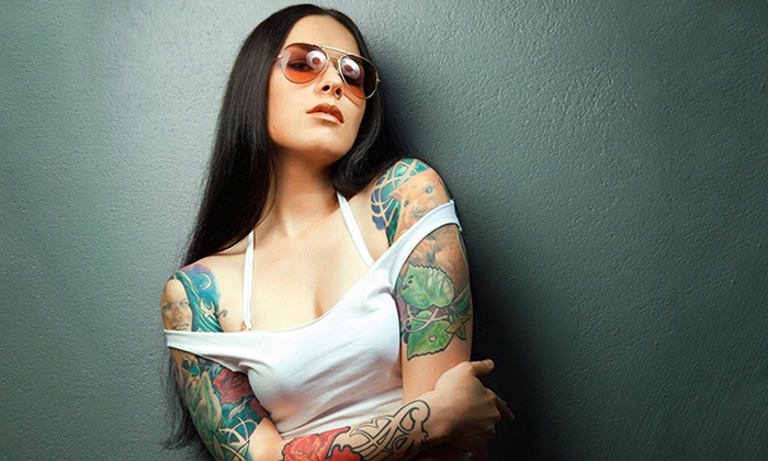 Inkslingers - 3, Bel Air: Up to 64% Off Tattoos at Inkslingers