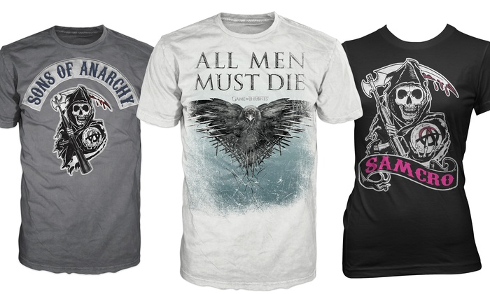 934c9b92 Game of Thrones and Sons of Anarchy Men's and Women's T-Shirts