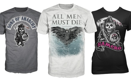 Game of Thrones and Sons of Anarchy Men's and Women's T-Shirts