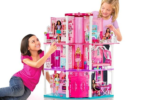 Mobili Per La Casa Di Barbie : Casa di barbie mattel groupon goods