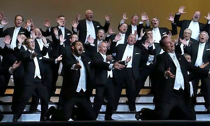 The Men of Independence - Multiple Locations: The Men of Independence Holiday Concert for One or Two on December 13 or 14 (Up to 50% Off)