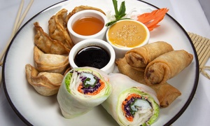 Pattaya Thai: Authentic Thai Food and Drink for Two People or More at Pattaya Thai (40% Off)