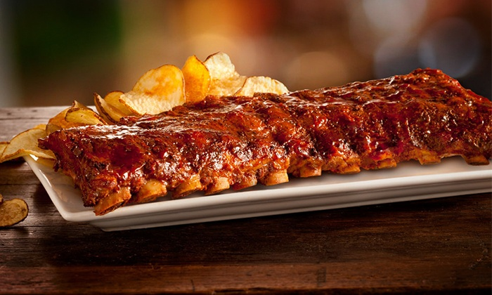 Montgomery Inn - Dublin: $39 for $50 Worth of Award-Winning Ribs, Chops, and BBQ for Dinner at Montgomery Inn