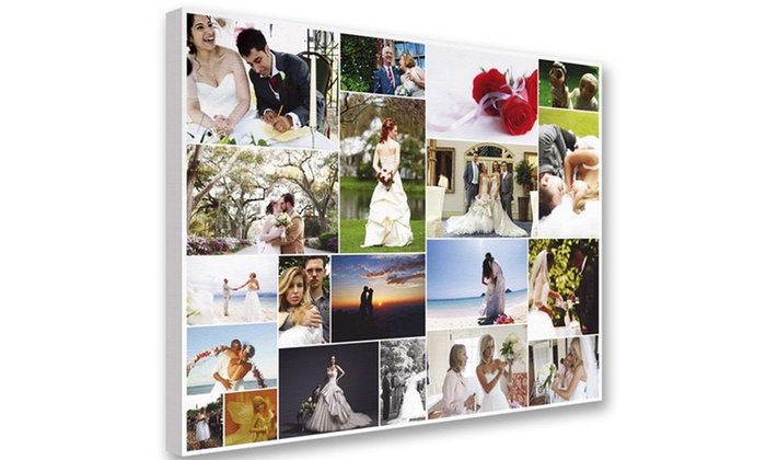 """Custom Canvas Montage from YouFrame: 16""""x16"""", 20""""x20"""", or 30""""x30"""" Custom Canvas Montage from YouFrame from$39.99–$64.99"""