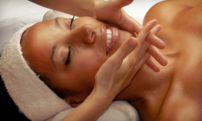 The Village Spa - Amherst: Holiday Spa Packages with Mani-Pedis and Facials or Massages at The Village Spa (52% Off)