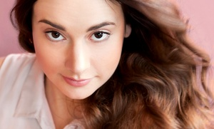 Blu Raven Salon & Spa: Women's and Men's Hair Services at Blu Raven Salon & Spa (Up to 55% Off). Four Options Available.