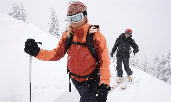 Pineridge Cross-Country Ski Area - Poestenkill: Cross-Country Skiing Package or Snowshoe Rental for Two at Pineridge Cross-Country Ski Area (Up to 51% Off)