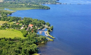 Family-Friendly Lakeside Resort in Ontario at Golden Beach Resort, plus 6.0% Cash Back from Ebates.