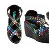 Serene Sonista Platform Wedge Sandals (Size 5.5)
