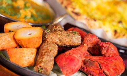 Mix-Tandoori-Platte mit Beilage und Suppefür 1 oder 2 Personen im Restaurant Mostardab 29,90 €