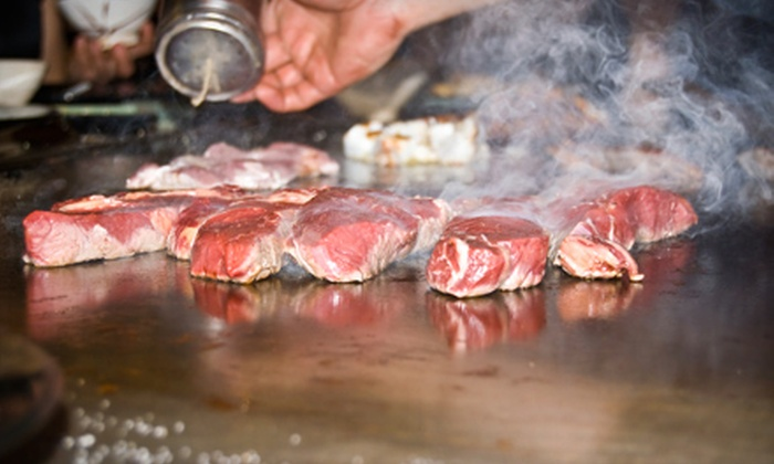 Mt. Fuji - Maple Grove: $25 for $50 Worth of Hibachi Fare and Drinks at Mt. Fuji in Osseo