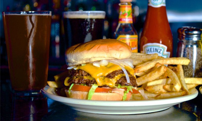 Frack Burger - Multiple Locations: Burgers and Drinks at Frack Burger (Up to 40% Off)