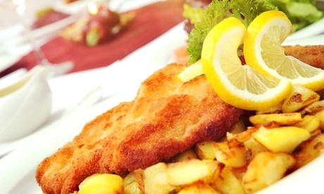 3-Gänge-Menü mit Wiener Schnitzel, Salat und Dessert für Zwei oder Vier im Restaurant Si ab 19 € in Cham