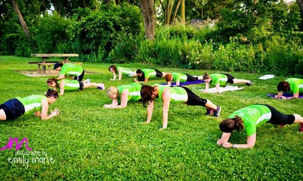 $158 for $450 Worth of Boot Camp — Moms On The Run Rochester