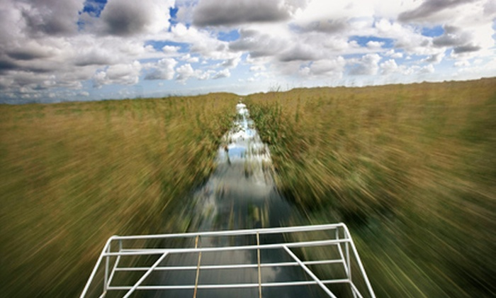 Everglades Holiday Park - Fort Lauderdale: Airboat Tour and Alligator Show for Two or Private Airboat Tour for Four at Everglades Holiday Park (Up to 51% Off)
