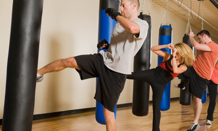 Krav Maga Force - Shellmont: One or Three Months of Unlimited Group-Fitness Classes at Krav Maga Force (Up to 76% Off)